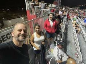 Doug attended Phoenix Rising vs. LA Galaxy on Jul 3rd 2021 via VetTix