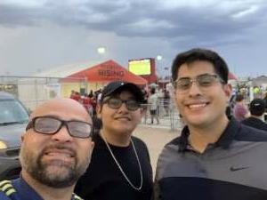 Hector Sanchez attended Phoenix Rising vs. LA Galaxy on Jul 3rd 2021 via VetTix