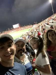 Francisco Ruiz attended Phoenix Rising vs. LA Galaxy on Jul 3rd 2021 via VetTix