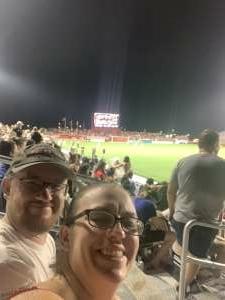 Wiseout  attended Phoenix Rising vs. LA Galaxy on Jul 3rd 2021 via VetTix