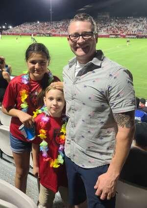 Chris Baker attended Phoenix Rising vs. LA Galaxy on Jul 3rd 2021 via VetTix