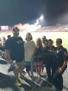 CMS70 attended Phoenix Rising vs. LA Galaxy on Jul 3rd 2021 via VetTix