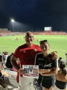 Gennaro Buonocore attended Phoenix Rising vs. LA Galaxy on Jul 3rd 2021 via VetTix