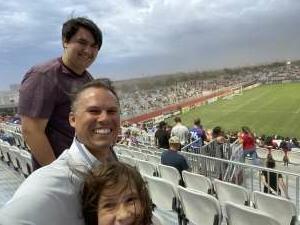 Todd attended Phoenix Rising vs. LA Galaxy on Jul 3rd 2021 via VetTix