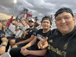 Octavio Danis attended Phoenix Rising vs. LA Galaxy on Jul 3rd 2021 via VetTix