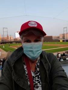 Cathy H attended Chicago Dogs vs. Houston Apollos - MLB Partner League on Jul 2nd 2021 via VetTix