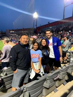 Lee attended Chicago Dogs vs. Houston Apollos - MLB Partner League on Jul 2nd 2021 via VetTix