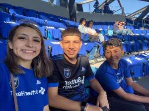 Sal attended San Jose Earthquakes vs. LA Galaxy - MLS on Jun 26th 2021 via VetTix