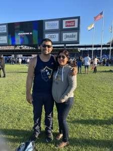 Alex and Jessica attended San Jose Earthquakes vs. LA Galaxy - MLS on Jun 26th 2021 via VetTix