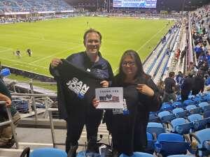 Jason B attended San Jose Earthquakes vs. LA Galaxy - MLS on Jun 26th 2021 via VetTix