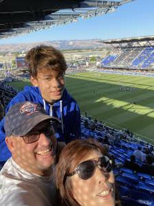 Robbie attended San Jose Earthquakes vs. LA Galaxy - MLS on Jun 26th 2021 via VetTix