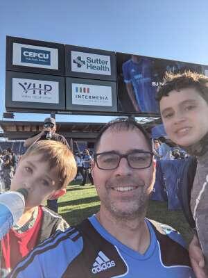 Michael attended San Jose Earthquakes vs. LA Galaxy - MLS on Jun 26th 2021 via VetTix