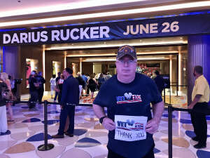 Click To Read More Feedback from Darius Rucker - Hard Rock Atlantic City