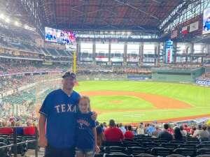 Eric attended Texas Rangers vs. Oakland Athletics - MLB on Jul 9th 2021 via VetTix