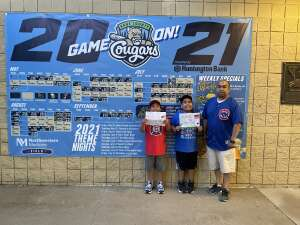 Click To Read More Feedback from Kane County Cougars vs. Gary Southshore Railcats - Military Appreciation Night! MLB Pl