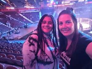 Jennifer Army Vet attended Bellator MMA 261: Johnson vs. Moldavsky on Jun 25th 2021 via VetTix