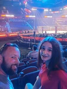 Jshlap attended Bellator MMA 261: Johnson vs. Moldavsky on Jun 25th 2021 via VetTix
