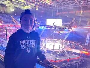 Mike attended Bellator MMA 261: Johnson vs. Moldavsky on Jun 25th 2021 via VetTix