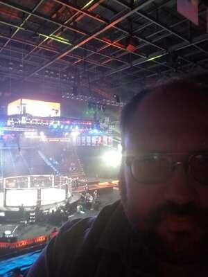 Robert attended Bellator MMA 261: Johnson vs. Moldavsky on Jun 25th 2021 via VetTix