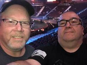 Steven Nichols attended Bellator MMA 261: Johnson vs. Moldavsky on Jun 25th 2021 via VetTix