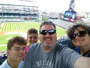 Adam attended Colorado Rockies vs. Pittsburgh Pirates on Jun 28th 2021 via VetTix