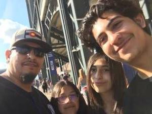 AlfonsoLa attended Colorado Rockies vs. Pittsburgh Pirates on Jun 28th 2021 via VetTix