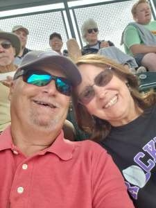 Gary Dunlap attended Colorado Rockies vs. Pittsburgh Pirates on Jun 28th 2021 via VetTix