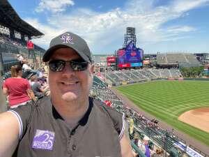 Jim Peterson attended Colorado Rockies vs. Pittsburgh Pirates on Jun 28th 2021 via VetTix