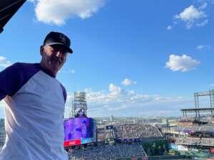 Jerome attended Colorado Rockies vs. Pittsburgh Pirates on Jun 28th 2021 via VetTix