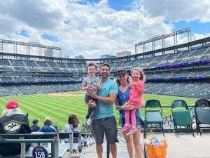 Pen fam attended Colorado Rockies vs. Pittsburgh Pirates on Jun 28th 2021 via VetTix