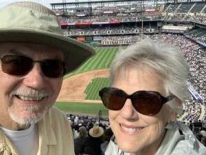 Larry attended Colorado Rockies vs. Pittsburgh Pirates on Jun 28th 2021 via VetTix