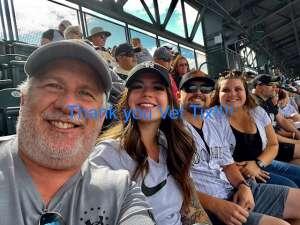 TommyG attended Colorado Rockies vs. Pittsburgh Pirates on Jun 28th 2021 via VetTix