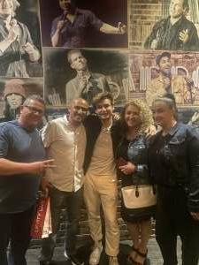 Oscar Camarena attended Moses Storm on Jul 2nd 2021 via VetTix