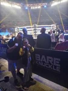 Justin attended Bkfc 18 : Bare Knuckle Fighting on Jun 26th 2021 via VetTix
