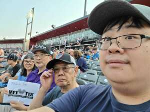 Click To Read More Feedback from Chicago Dogs vs. Houston Apollos - Fireworks Extravaganza Night - MLB Partner League