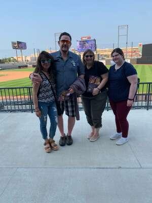 Clutch  attended Chicago Dogs vs. Houston Apollos - Fireworks Extravaganza Night - MLB Partner League on Jul 3rd 2021 via VetTix