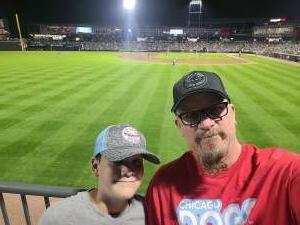 Paul attended Chicago Dogs vs. Houston Apollos - Fireworks Extravaganza Night - MLB Partner League on Jul 3rd 2021 via VetTix