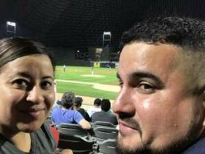 Josue attended Chicago Dogs vs. Houston Apollos - Fireworks Extravaganza Night - MLB Partner League on Jul 3rd 2021 via VetTix