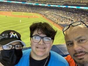 David attended Miami Marlins vs. Los Angeles Dodgers - MLB on Jul 5th 2021 via VetTix