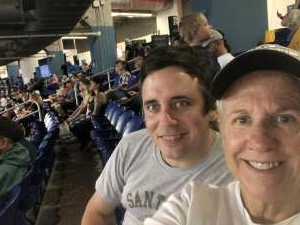 Celeste attended Miami Marlins vs. Los Angeles Dodgers - MLB on Jul 5th 2021 via VetTix