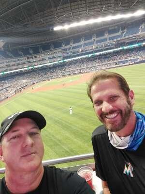 Rex attended Miami Marlins vs. Los Angeles Dodgers - MLB on Jul 5th 2021 via VetTix