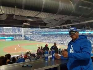 Joe De Leon attended Miami Marlins vs. Los Angeles Dodgers - MLB on Jul 5th 2021 via VetTix