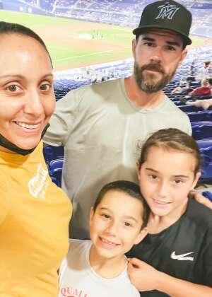 Tommy D. attended Miami Marlins vs. Los Angeles Dodgers - MLB on Jul 5th 2021 via VetTix
