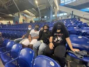 Cecilia attended Miami Marlins vs. Los Angeles Dodgers - MLB on Jul 5th 2021 via VetTix