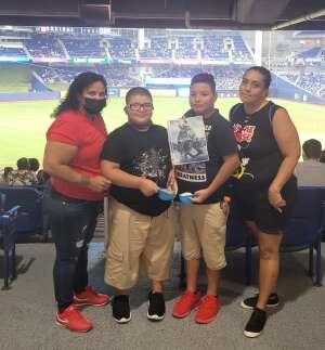 Med attended Miami Marlins vs. Los Angeles Dodgers - MLB on Jul 5th 2021 via VetTix