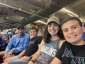JAC attended Miami Marlins vs. Los Angeles Dodgers - MLB on Jul 5th 2021 via VetTix