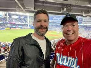Darren attended Miami Marlins vs. Los Angeles Dodgers - MLB on Jul 5th 2021 via VetTix
