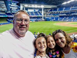 Mike Deason attended Miami Marlins vs. Los Angeles Dodgers - MLB on Jul 5th 2021 via VetTix