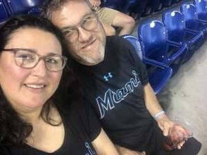 Ryan S. attended Miami Marlins vs. Los Angeles Dodgers - MLB on Jul 5th 2021 via VetTix