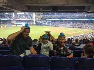 Christina P. attended Miami Marlins vs. Los Angeles Dodgers - MLB on Jul 5th 2021 via VetTix